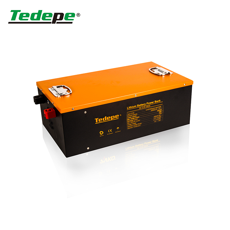 Lithium Battery 12V250AH With 200A BMS Charge And Discharge With  Equalizer  Solar Storage Manufacturer